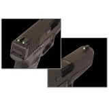 Truglo TFO Tritium/Fiber-Optic Day/Night Sights Fit Sig #8 Front/#8 Rear - Front Green/Rear Green