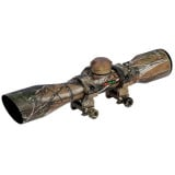 Truglo Compact Rimfire & Shotgun Rifle Scope - 4x32mm Diamond Ballistic   Camo