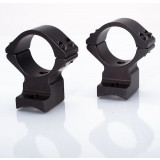 "Talley Lightweight Alloy Scope Mounts - Black Anodized - 1"" - Ex-Low, Browning A-Bolt, Steyr Pro Hunter, SBS/Sako A7"
