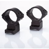 "Talley Lightweight Alloy Mount Combo - Extended - Black Anodized - 1"" Ex-Low, Remington 700-721-722-725-40X EXT FRT"
