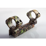 "Talley Lightweight Alloy Mount Combo - Extended, Thompson Center Encore- Omega Triumph & Pro Hunter - HD Camo - 1"" Medium"