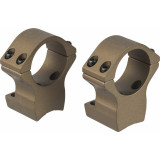 Talley Lightweight Alloy Scope Mount Combo Browning X-Bolt 30mm High - Hell's Canyon Bronze