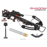TenPoint Shadow Ultra Lite Crossbow with 3X Pro-View 2 Scope and ACUdraw - Mossy Oak Treestand