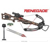 Tenpoint Renegade Crossbow Package with 3x Pro View 2 Scope - Break-Up Country Mossy Oak