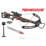 Tenpoint Renegade ACUdraw 50 Crossbow Package with 3x Pro View 2 Scope - Break-Up Country Mossy Oak