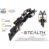 Tenpoint Stealth NXT Crossbow Package with Tenpoint Rangemaster Pro Scope & ACUdraw 50 SLED Cocking Device - Timber Viper
