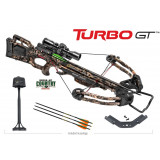 Tenpoint Turbo GT Crossbow Package with 3x ProView2 Scope & Rope Cocker - Mossy Oak Break-up Country