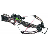 Tenpoint Titan SS Crossbow Package  3x32 MultiLine Scope & 3-Arrow Quiver (Cocker Not Included) - Mossy Oak Treestand