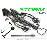 Horton Storm RDX Crossbow with 4x32 Multi-Line Scope and Dedd Sled - Mossy Oak Treestand