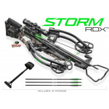 Horton Storm RDX Crossbow with AcuDraw / 4x32 Multi-Line Scope /  3 Carbon Arrows / Quiver