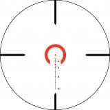 Trijicon VCOG Sight - 1-6x24mm Red Horseshoe Reticle .223/55gr TA51 Mount