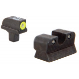Trijicon 1911 Colt Cut HD Night Sight Set - Yellow Front Outline