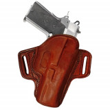 Tagua Gunleather Open Top Belt Holster for S&W Shield 9mm/40 Shield Black Right Hand