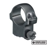 """Ruger Steel Scope Ring - Single (5B) 1"""" High 1.062"""" Height - Blued"""
