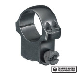 """Ruger Steel Scope Ring- Single 1"""" High 1.062"""" Height - Blued"""