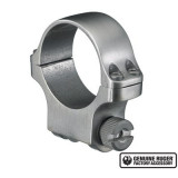 """Ruger Steel Scope Ring - Single (4K30) 30mm Medium .937"""" Height - Stainless Finish"""