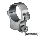"Ruger Steel Scope Ring- Single 30mm High 1.062"" Height - Stainless"