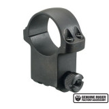 """Ruger Steel Scope Ring - Single (6B30HM) 30mm Extra High 1.187"""" Height- Matte Blued"""