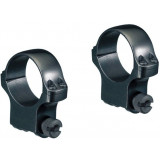 uger 2-Piece Standard Steel Scope Rings 5B20/6B30 30mm High - Blued