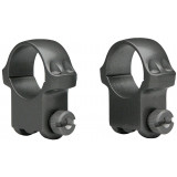"Ruger 2-Piece Standard Steel Scope Rings 5B/6B 1"" High - Matte Blued"