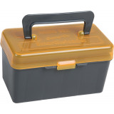 SmartReloader Rifle Ammo Box 50/rds - Orange with Handle & Padding - Medium