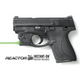 Viridian REACTOR 5 Green Laser Sight for S&W Shield w/ECR w/Instant-On Belt Holster