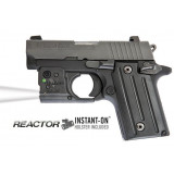 Reactor Taclight for Sig P238/P938 with ECR Radiance & Hybrid Belt Holster