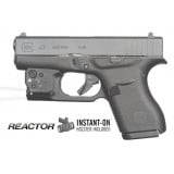 Viridian Reactor Tactlght with Radiance for Glock .43 w/ ECR Instant-On Holster Black