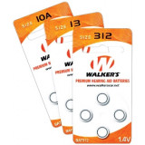 Walker's Premium 312 Hearing Aid Batteries - 4 Pack