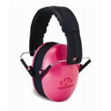 Walker's Game Kids Folding Passive Ear Muffs-Pink