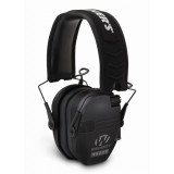 Walker's Game Razor Slim Shooter Folding Ear Muffs-Black