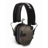 Walker's Game Razor Slim Shooter Folding Ear Muffs-Dark Earth