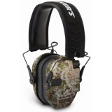 Walker's Game Razor Slim Shooter Folding Ear Muffs-Kryptek Camo