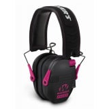 Walker's Game Razor Slim Shooter Folding Ear Muffs-Pink