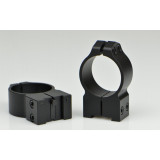 Warne Maxima Fixed Scope Rings with Grooved Receiver - Tikka 30mm, High, Matte