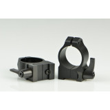 """Warne Maxima QD Scope Rings with Grooved Receiver - 1"""", Medium, Matte CZ 527"""