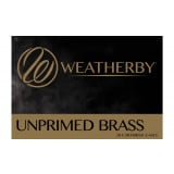 Weatherby Unprimed Brass Rifle Cartridge Cases 6.5 - .300 Wby 20/ct