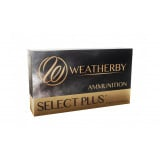 Weatherby Select Plus Rifle Ammunition 6.5-300 WBY 130 gr Scirocco 3476 fps 20/ct