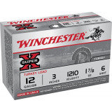 "Winchester Super-X Turkey Load Shotshells 12ga 3"" 1-7/8 oz #6 10/ct"
