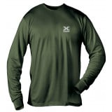X-System Scent Elimination Long Sleeve Base Layer Shirt - X-Large Olive Drab Green