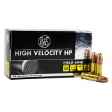RWS Field Line Rimfire Ammunition High Velocity .22 LR 40 gr HP 50/Box