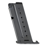 Walther PPS Magazine Flush Base 9mm Black Steel 6/rd