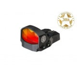 Sig Sauer ROMEO1 Mini Reflex Sight with M1913 Rail Interface - 1x30mm 3 MOA Red Dot Reticle Black