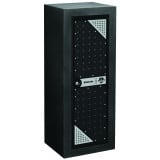Stack-On Tactical Gun Cabinet - Black/Silver