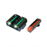 Truglo  Fiber-Optic Sights Fit Glock 42, 43 - Front Red/Rear Green