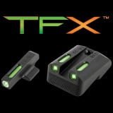 Truglo TFX Tritium/Fiber-Optic Day/Night Sights - NOVAK .270/.450 Set