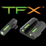 Truglo TFX Tritium/Fiber-Optic Day/Night Sights - Springfield XD Set