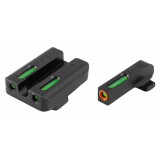 """Truglo TFX Pro Tritium/Fiber-Optic Day/Night Sights Fit Springfield XD