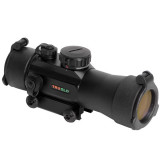 Truglo Red Dot Xtreme Dual Color Multi-Reticle Sight - 2x42mm Illum. Multi Reticle Black