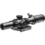 Truglo OMNIA4 Tactical Scope - 1-6x24mm 30mm Illum All Purpose Tactical Reticle (A.P.T.R.) Black Matte